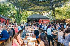 Banger's on Rainey Street in Austin, Texas. Photo by Banger's Sausage House & Beer Garden.