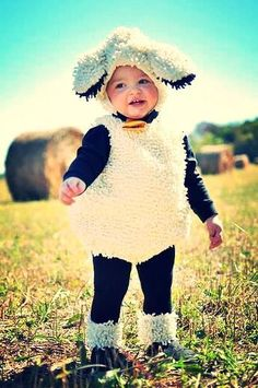 Kids Halloween Costumes: Sheep