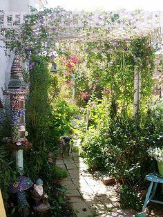 my garden by mosaic.queen, via Flickr