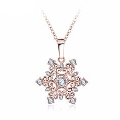 Necklace Type: Pendant Necklaces Main Material: AAA Cubic Zircon Design: Fashion wedding jewelry Plating: Rose Gold /Platinum Plated Metal: Copper Length: 18'' metal chain CHOOSE A COLOR IN DROP DOWN