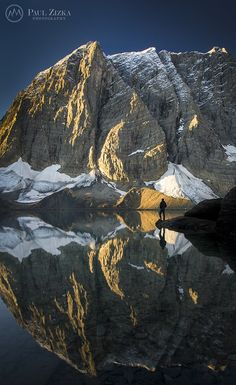 Numa Mountain and Floe Lake ~  Kootenay National Park, British Columbia, Canada
