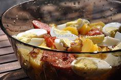 Salata de cartofi cu carnati | Retete culinare cu Laura Sava