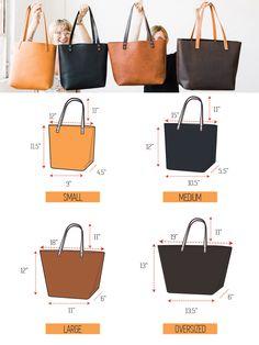 Fourre-tout en cuir de vente énorme sac en cuir fait à la