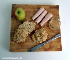 Size Zero Rezept Haferflocken-Brötchen - Frühstück Woche 1-6 • Mamizauber