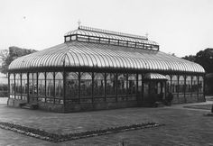 The original Belleisle Park conservatory of 1879 Ayr Scotland, Paisley Scotland, Arran, Town Hall, Conservatory, Vintage Photographs, Cure, Past, Travelling