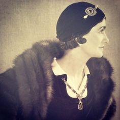 Circa 1928 - Coco Chanel by Man Ray