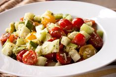 This avocado salad is fresh, quick, tasty and easy to prepare. Plus it is loaded with healthy fats, something many of us are lacking in our diets.