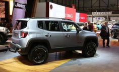 Two Cute: Tiny Jeep Renegade Concept Gets Even Tinier Matching Trailer - Photo Gallery of Auto Show from Car and Driver - Car Images - Car and Driver