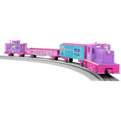 ?? - Lionel Trains Junction Pet Shop Diesel LionChief Plastic O-Gauge Ready to Run Set
