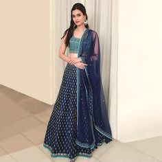 Showcase your beauty with this classy outfit for Just @ Rs 2150 /- To grab this look whatsapp @ 9054562754 Indian Bridal Fashion, Indian Wedding Outfits, Pakistani Outfits, Bridal Outfits, Indian Outfits, Indian Clothes, Lehenga Designs, Indian Attire, Indian Wear