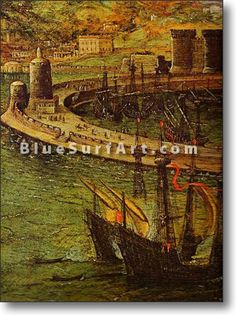 The Bay of Naples - £124.99 : Canvas Art, Oil Painting Reproduction, Art Commission, Pop Art, Canvas Painting