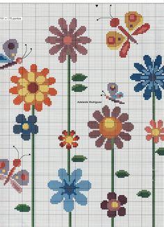 My Corner: Grafica Flowers in Cross Stitch!