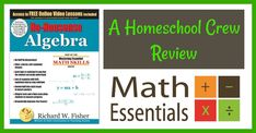 ABC's and Sweet Tea: No-Nonsense Algebra by Math Essentials ~ A Homeschool Crew Review @MathEssentials  It is simple and easy to understand for both parents and students.  #hsreviews, #mathessnetials #nononsensealgebra #homeschoolmath