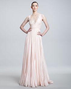 Carmen Marc Valvo Spring 2012. Blush pink, anyone?