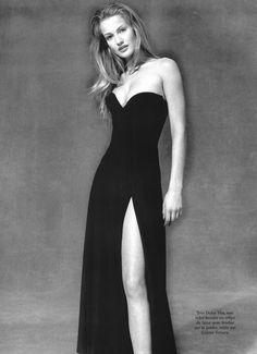 ☆ Karen Mulder | Photography by Christopher Griffith | For Vogue Magazine Paris | April 1993