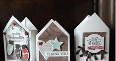 Stampin Up Weihnachten, Stampin Up Christmas, Stamping Up, Advent Calendar, Goodies, Card Making, Presents, Paper Crafts, Scrapbook