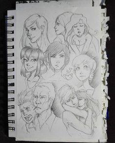 Sketchbook I by Filika