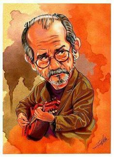 Silvio Rodríguez Draw, Portrait, Painting, Caricatures, Drawings, Notebooks, Songs, Couples, Illustrations