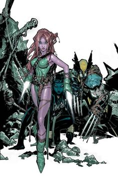 Exiles by Chris Bachalo