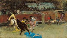 Description Marià Fortuny i Marsal Bullfight.jpg