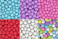 Mini Chocolate Hearts - Candy Coated