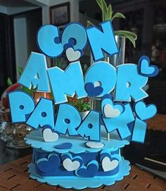Pin De Patricia Lainnez En Modelos Para Toppers En 2020 Disney Drawings, Mandala Art, Paper Cutting, Ideas Para, Cake Toppers, Smurfs, Diy And Crafts, Valentines Day, Banner