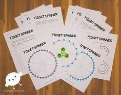 Een educatief pakket bomvol ideeën over hoe je Fidget Spinners in de klas kunt inzetten!