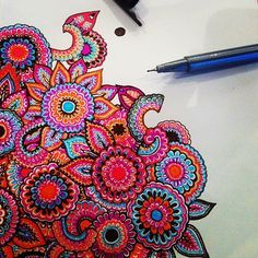 zentangles colorful tumblr - Google Search