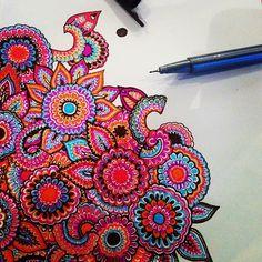 zentangles colorful tumblr - Google Search