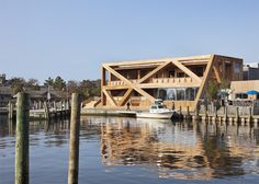 New Fire Island Pines Pavilion by HWKN
