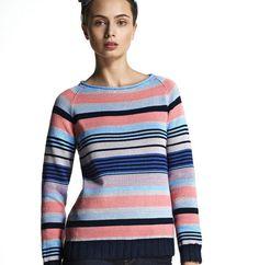 Modèle Pull multicolore Femme - Modèles Gratuits Femme - Phildar ea95ae9b1e09
