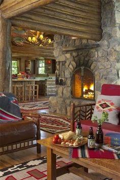 evimi seviyorum..: Rustik sıcacık evler...