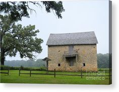 Fort Severson Acrylic Print by Bonfire #Photography