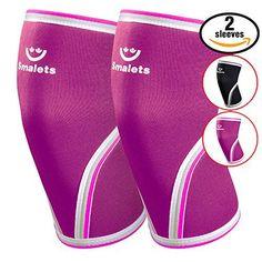 Knee-Sleeves-1-Pair-Support-Womens-Athletics-Weightlifting-#women#kneesleeves#fitness #strengthtraining