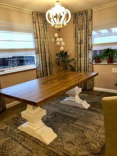 Masa lemn masiv fabricata in Romania Romania, Dining Table, Rustic, Furniture, Home Decor, Country Primitive, Homemade Home Decor, Dinning Table Set, Home Furnishings