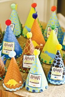 Fantastic Rawr Your World Dinosaur Birthday Party