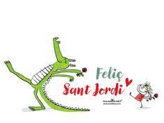 Salvapantalles Sant Jordi 2016 anna llenas