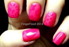 Matte pink skittles    http://fingerfoodnails.blogspot.co.uk/2014/01/crumpets-nail-tarts-got-polish.html