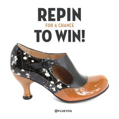 Contest has ENDED! Thank you everyone for participating. Winner will be contacted soon. Repin this Ella Baker image for a chance to WIN a pair of Fall/Winter 2016 Ella Baker heels from John Fluevog Shoes! Please visit http://vo.gg/cf1Y303pzgF for full contest rules.