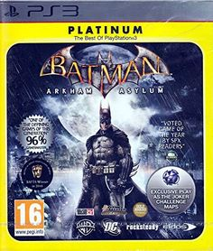 Batman Arkham Asylum PAL  HD Version  PS3 Platinum Edition ** You can get additional details at the image link. Note:It is Affiliate Link to Amazon.