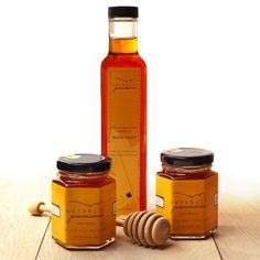 Honey and Maple Syrup Gift Set   $25. This gift offers the finest of the Catskills, both delicious honey as well as grade A maple syrup. Available at: manykitchens.com