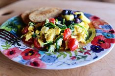 There's nothing quicker or easier in life than whipping up a big skillet of scrambled eggs, and if you throw in a bunch of simple add-ins, you can turn it into a delicious, satisfying breakfast (or...