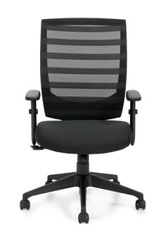 The model office chair from Offices To Go provides a comfortable sit at an affordable price point. This ventilated mesh chair is armless, supportive, and ideal for both home and business tasking. Office Chairs For Sale, Best Office Chair, Home Office Chairs, Office Desk, Gold Chivari Chairs, Office Chair Cushion, Chair Cushions, Sun Chair, Cozy Office