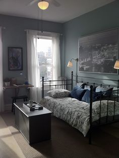 Blue Bedroom Design, Pictures, Remodel, Decor and Ideas - page 7