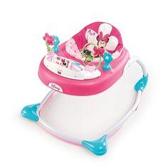 "Toys ""R"" Us - Disney - Minnie Mouse - Andador Minnie Rosa/Turquesa"