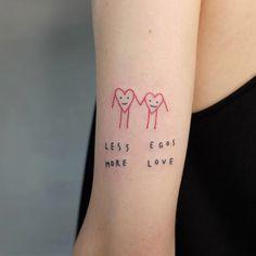 Less egos more love by Victor Zabuga