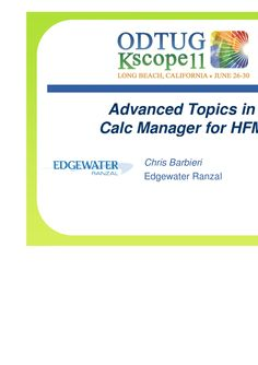 advanced-topics-in-calc-manager-for-hfm by Edgewater Ranzal via Slideshare