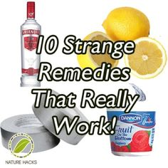 10 Strange Home Remedies That Really Work | Health & Natural Living
