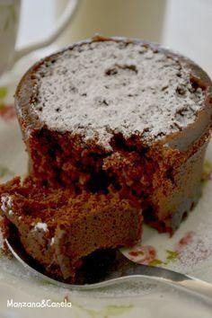 Manzana&Canela: Bizcocho de chocolate en taza y en microondas: la receta más rápida, fácil y buena del mundo.