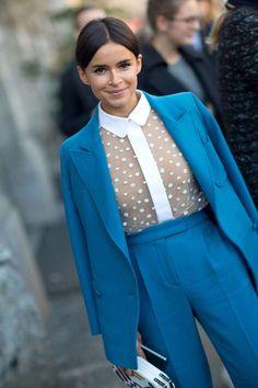 Miroslava Duma's 10 Best Street Style Looks. What: Christian Dior What: Christian Dior When: Paris Couture Week, January 2014